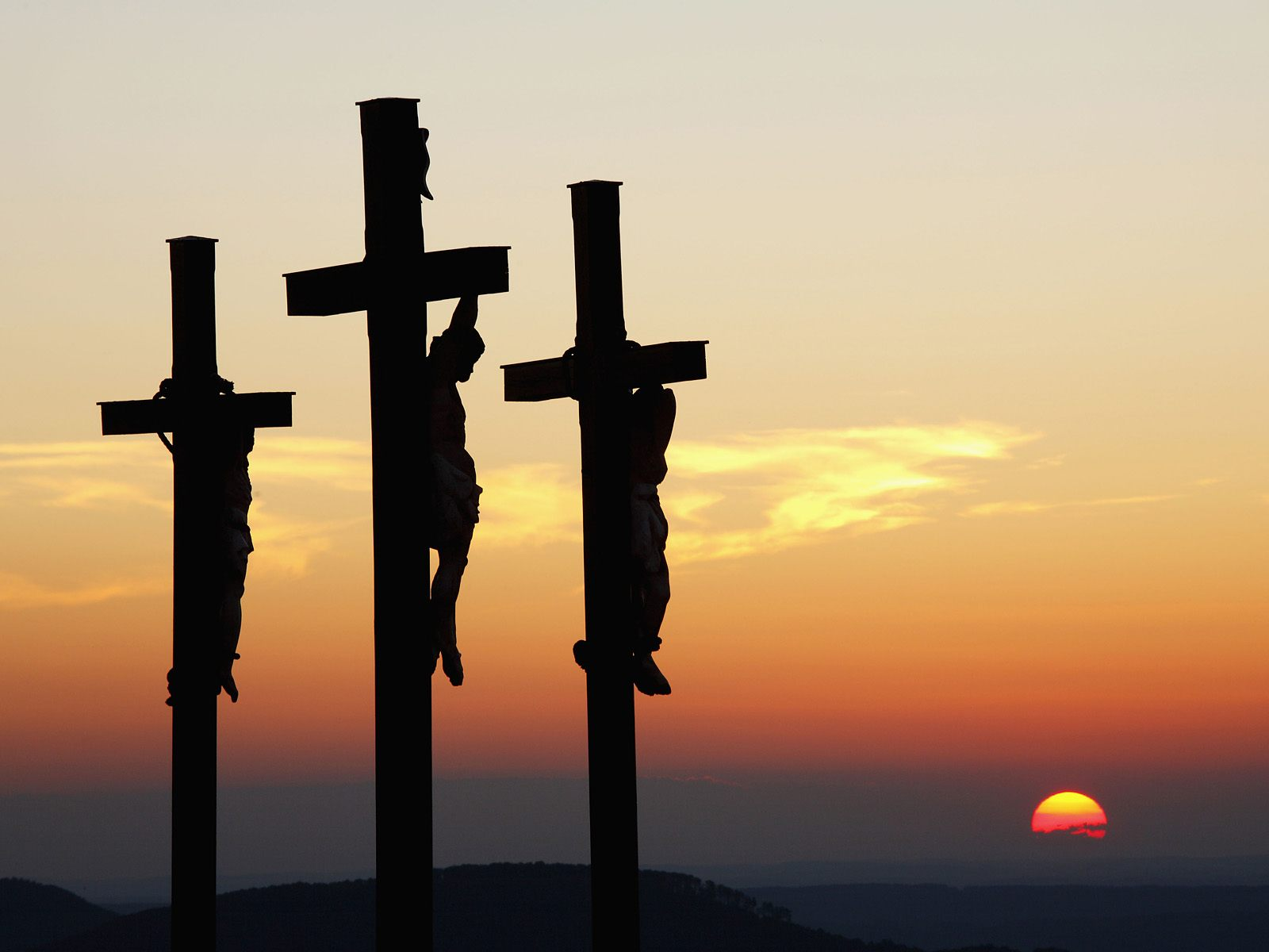 the Thief on the Cross On The Cross