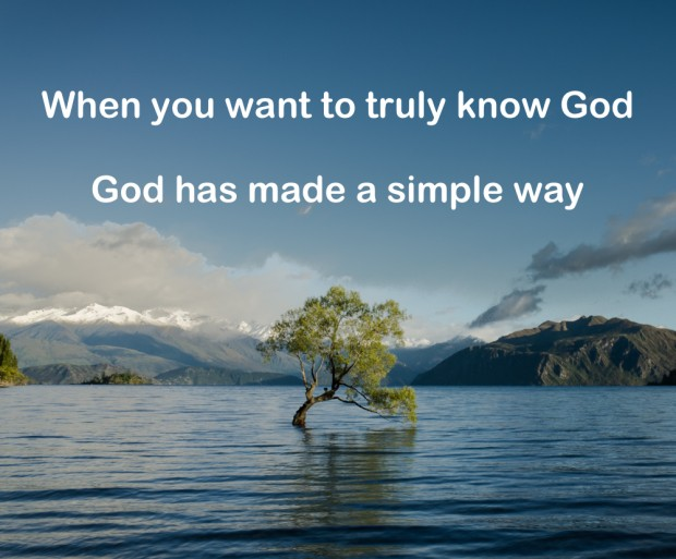 How Do I Know God?