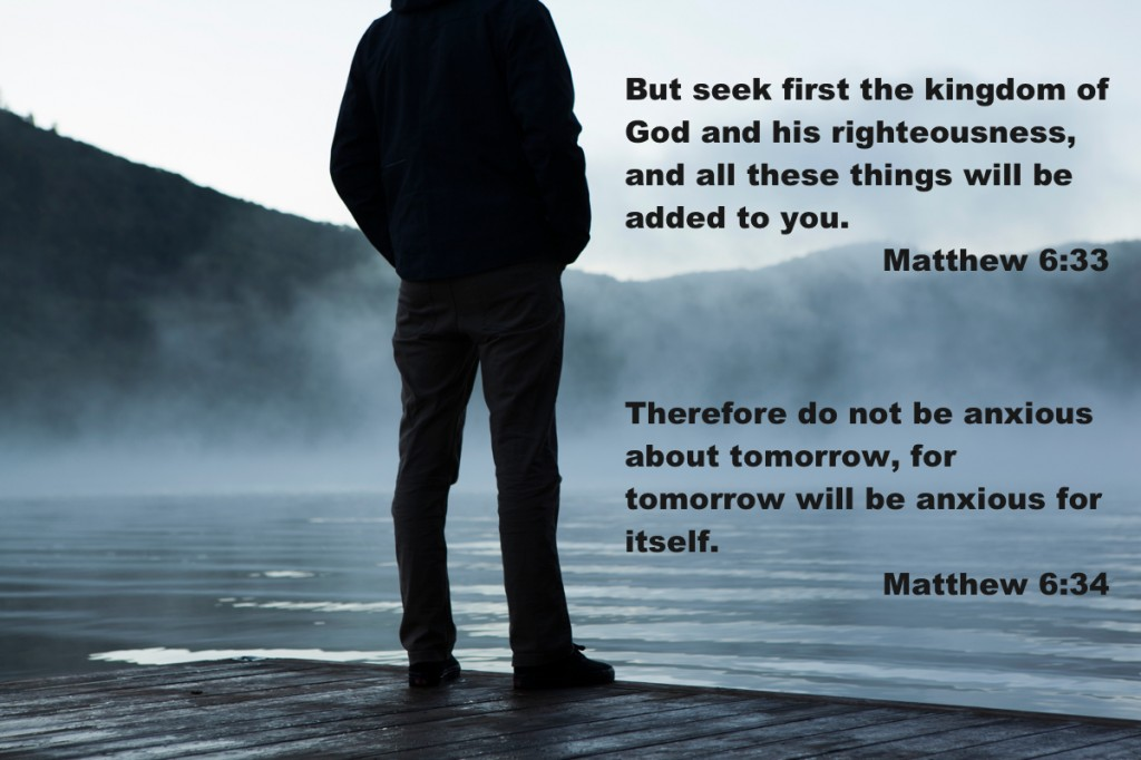 But seek first the kingdom of God and His righteousness, and all these things will be added to you
